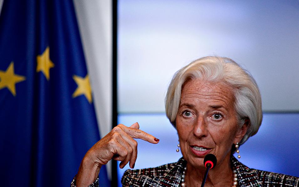 Christine Lagarde, dispuesta a revisar la estrategia del BCE
