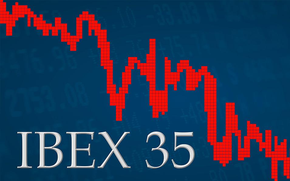 El Ibex 35 sufre una caída del 30% en términos anuales