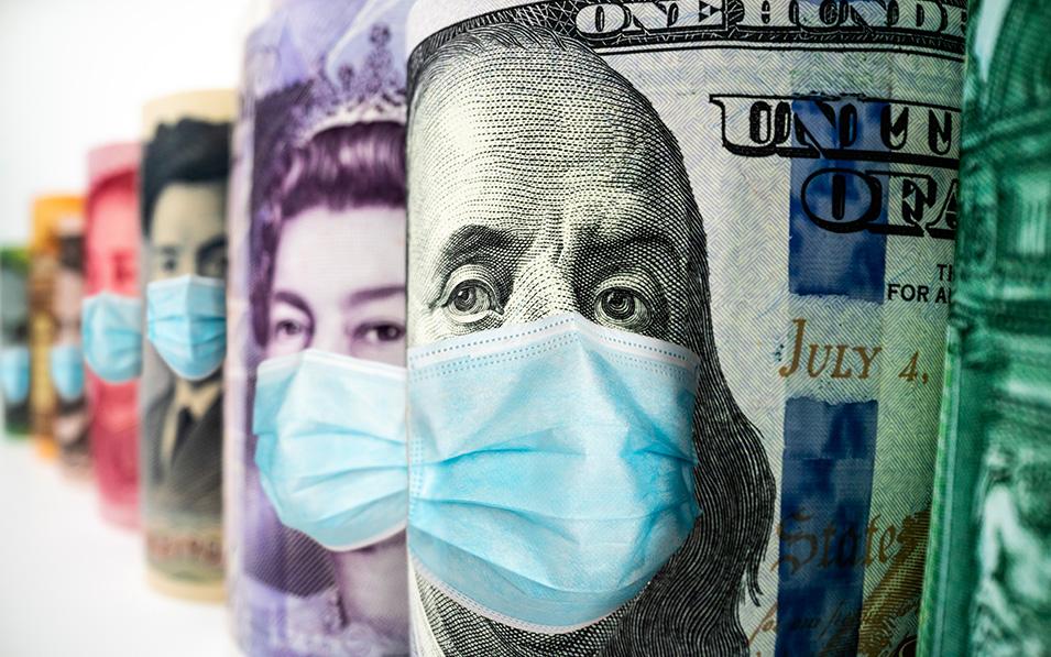 El avance de la pandemia, clave para el mercado de divisas