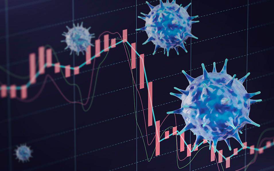 El crecimiento de contagios de Covid-19 sigue afectando al par Eur/Usd